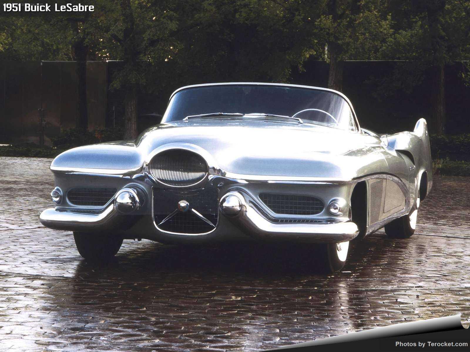 Hình ảnh xe ô tô Buick LeSabre 1951 & nội ngoại thất