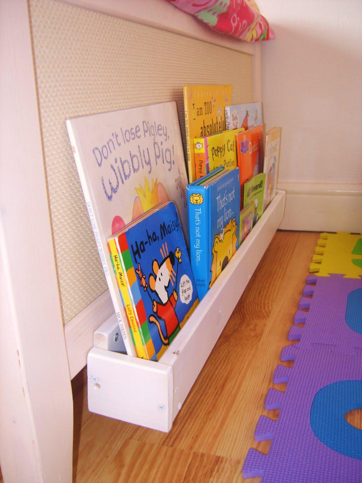 My handcrafted home the top secret project - Estanteria libros infantil ...