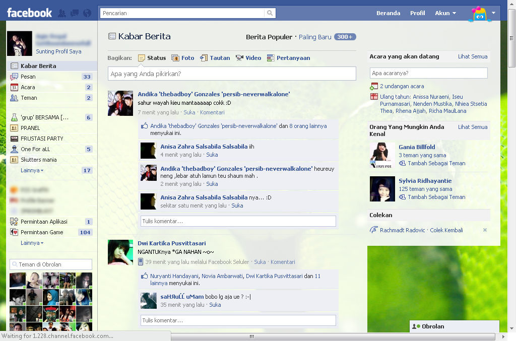 Tampilan Facebook Rusak Di Google Chrome