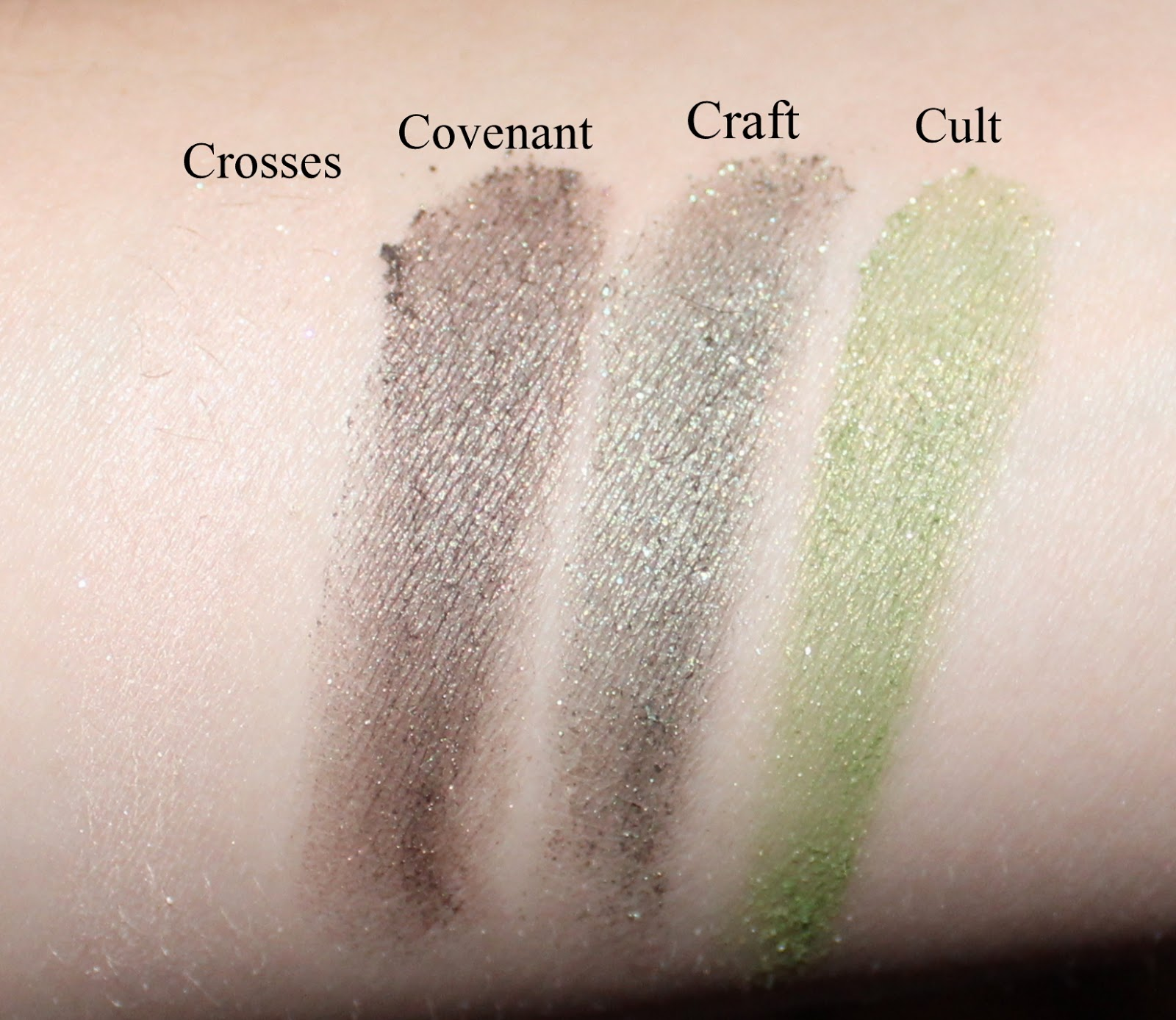 Kat Von D Star Studded Eyeshadow Book Swatches