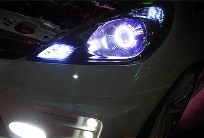 Rincian Harga Variasi Mobil Lampu HID Xenon Terbaru 2015