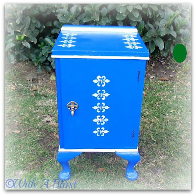 With A Blast : DIY Furniture Painting #diy  #furniturepainting