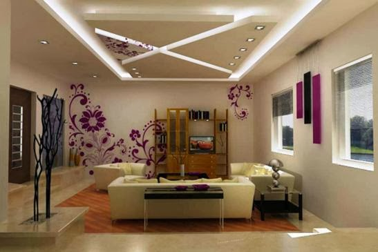 Best modern false ceiling designs for living room interior for Top 10 living room interior design