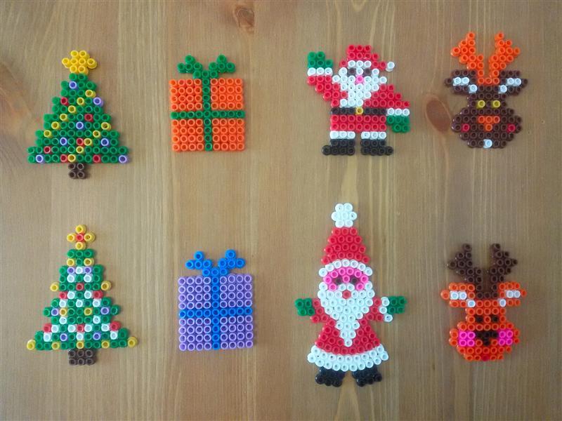 Popolare Pì Creativa: Addobbi natalizi fai da te con Pyssla BO11