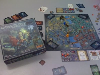 Guards! Guards! Discworld game in play
