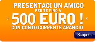 Conto Corrente Arancio - Presenta un amico