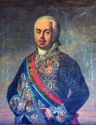 'Retrato de don Juan VI' sin información del autor ni de la obra, tomada de http://retratosdelahistoria.blogspot.com.ar