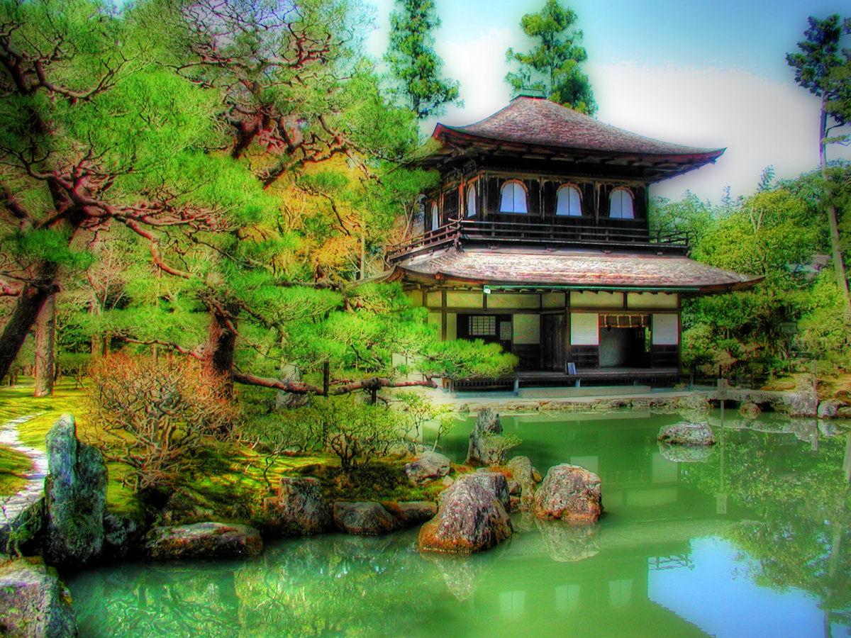 Japanese landscape wallpaper