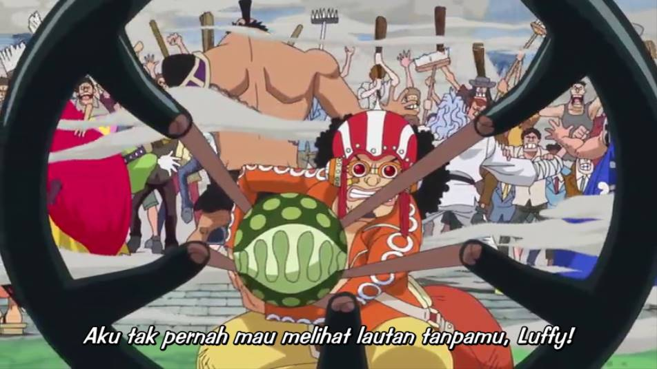 One Piece Episode 697 Subtitle Indonesia