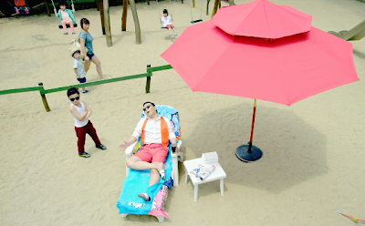 Psy Gangnam Style beach