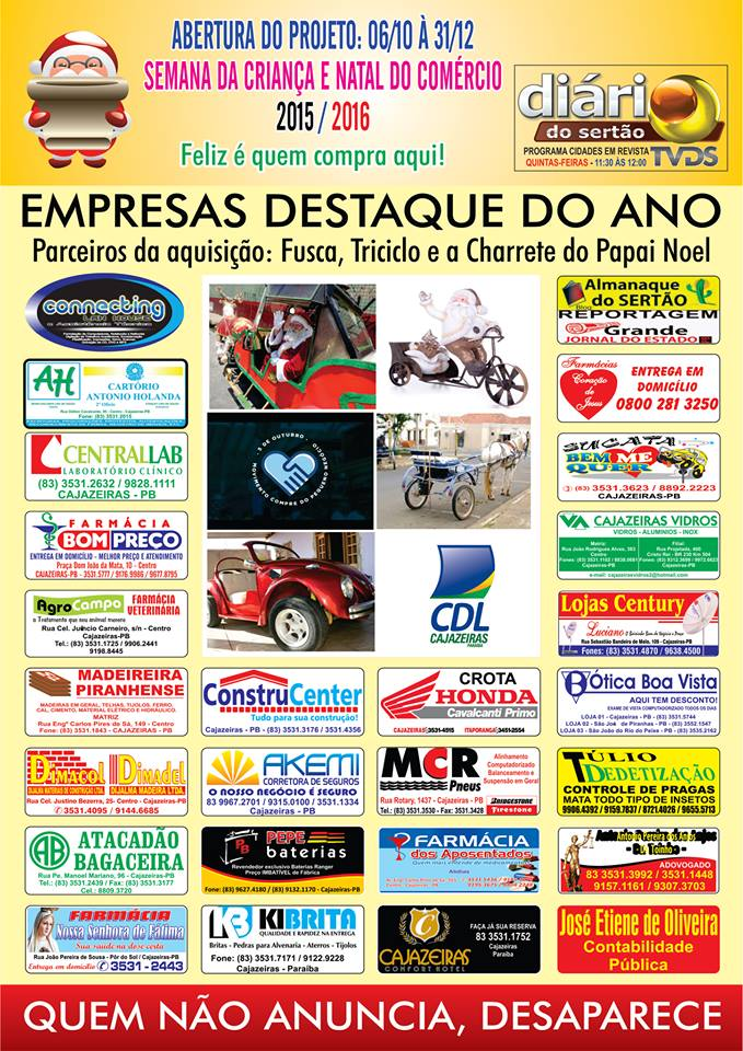 EMPRESAS  DESTAQUE  DO ANO  2015  2016