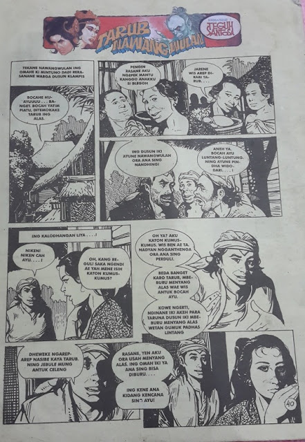 Tarub - Nawangwulan di majalah Jayabaya