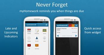 Planea tus tareas con MyHomework