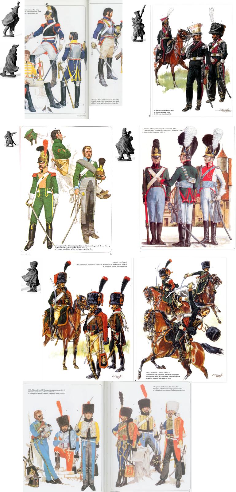 Osprey Publishing uniform plates