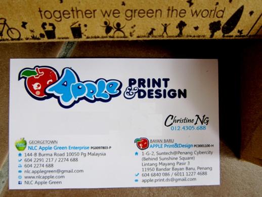 My S Crap Book Of Life A Good Namecard Printing Shop In Penang