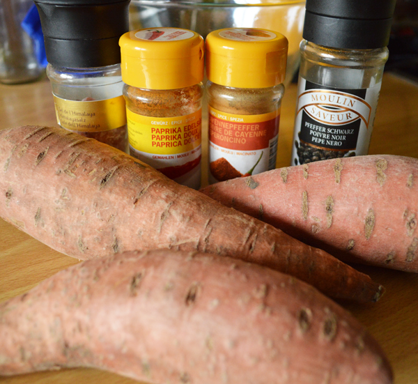 paprika flavoured sweet potato fries ingredients