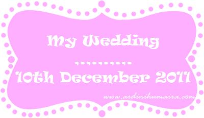 Hantaran perkahwinan daripada dni untuk suami