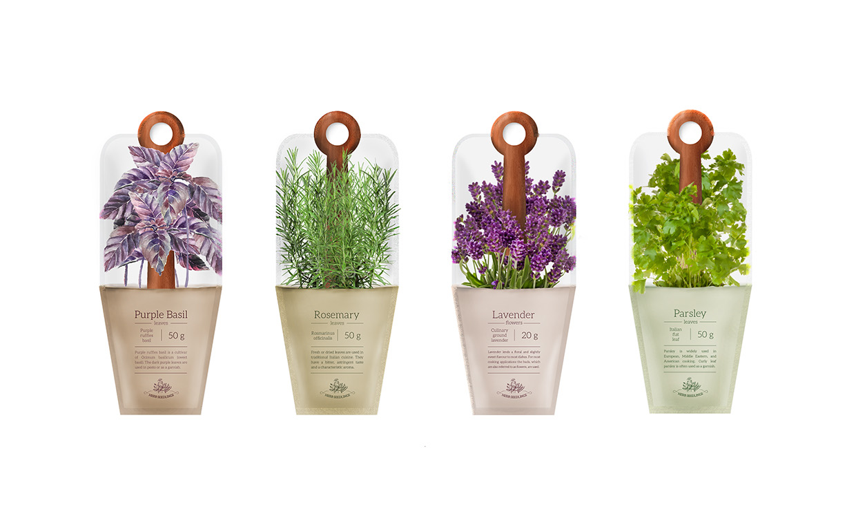 Spices Packaging On Of The World Creative