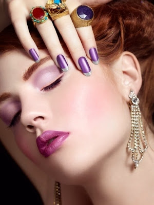 Elegant And Complete Party Makeup At New Year From 2014 | WFwomen