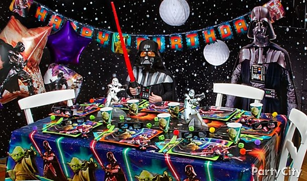 Star Wars Birthday Party Ideas Star Wars Birthday Party Decorations
