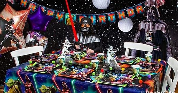 STAR WARS TATTOOS BIRTHDAY PARTY SUPPLIES