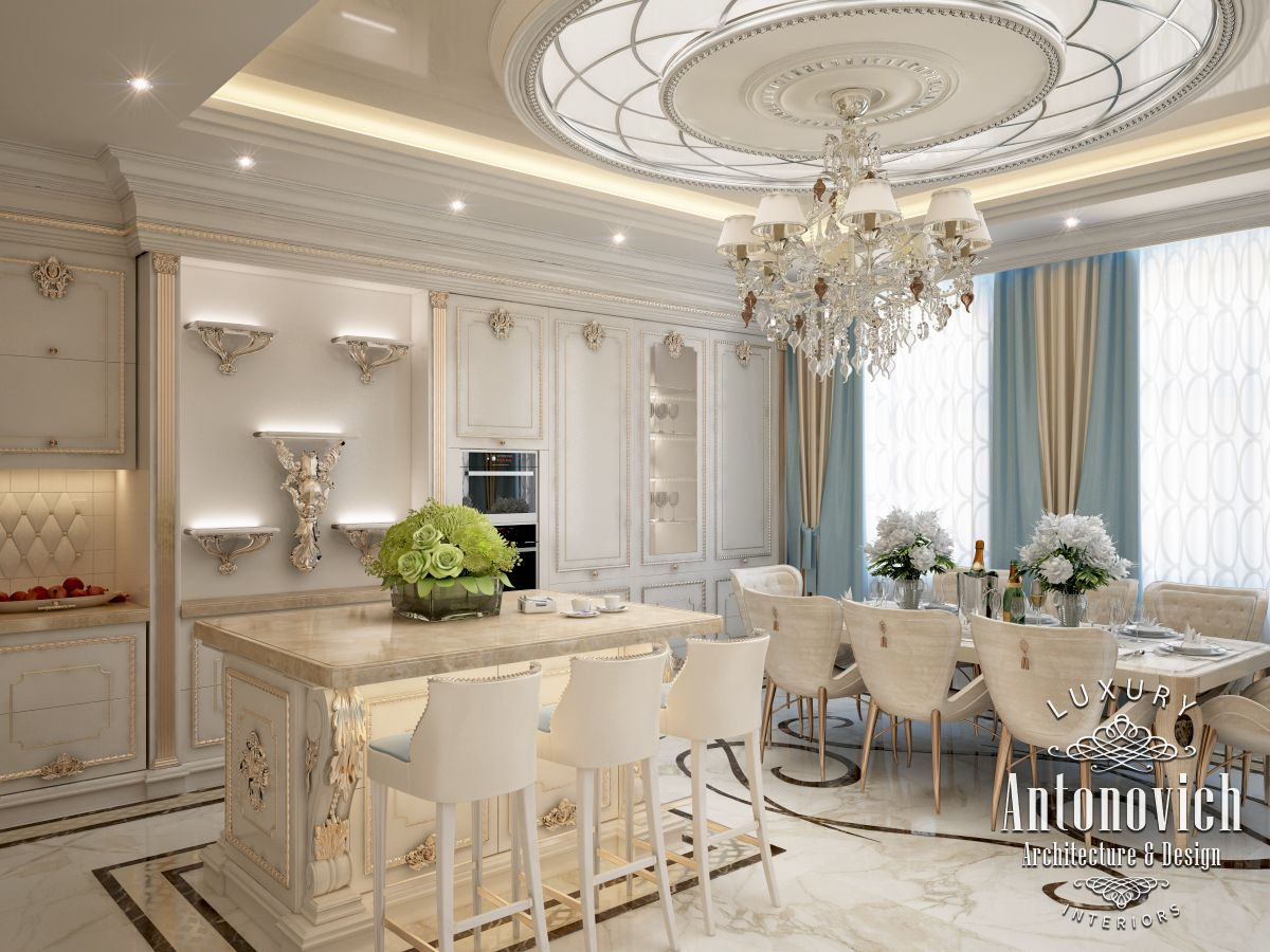 Luxury antonovich design uae interior design in art deco Style house fashion trading company uae
