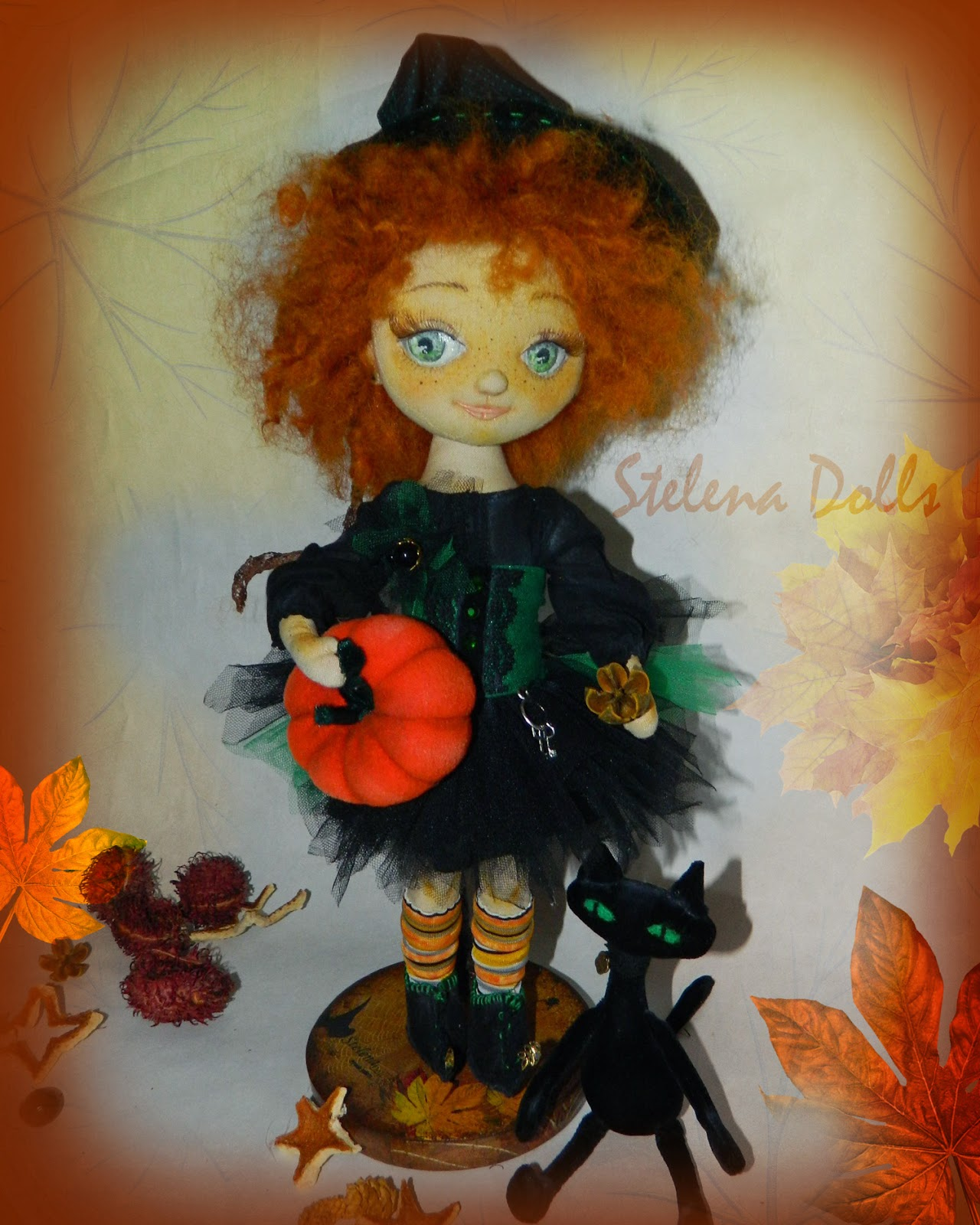 кукла-для хеллоуина