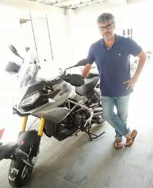 தல அஜித் அப்ரிலியா கேப்போனார்ட்