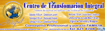 """CENTRO DE TRANSFORMACION INTEGRAL """"Vamos de Gloria en Gloria Y De Victoria en Victoria ..."""""""