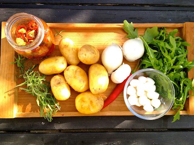 Mit Livs Kogebog - kartoffelpizza