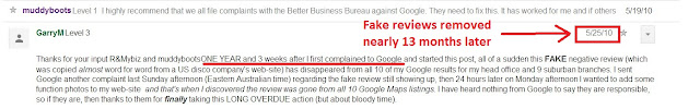 does flag as inappropriate help remove fake reviews screenshot 2