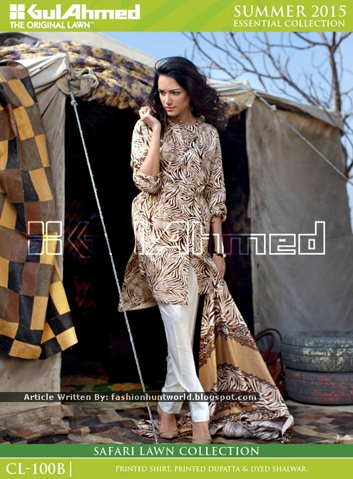 GulAhmed Safari Summer Lawn Dresses