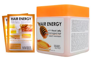 Cream Creambath Makarizo Hair Energy