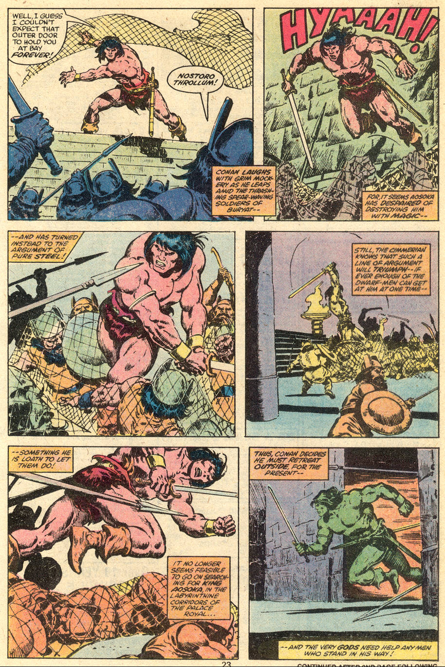 Conan the Barbarian (1970) Issue #111 #123 - English 14