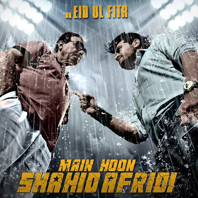 Poster Of Bollywood Movie Main Hoon Shahid Afridi (2013) 300MB Compressed Small Size Pc Movie Free Download worldfree4u.com
