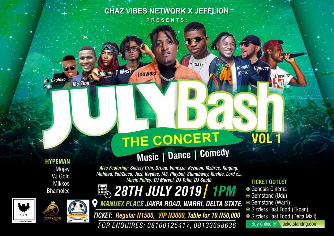 JULY BASH VOL 1