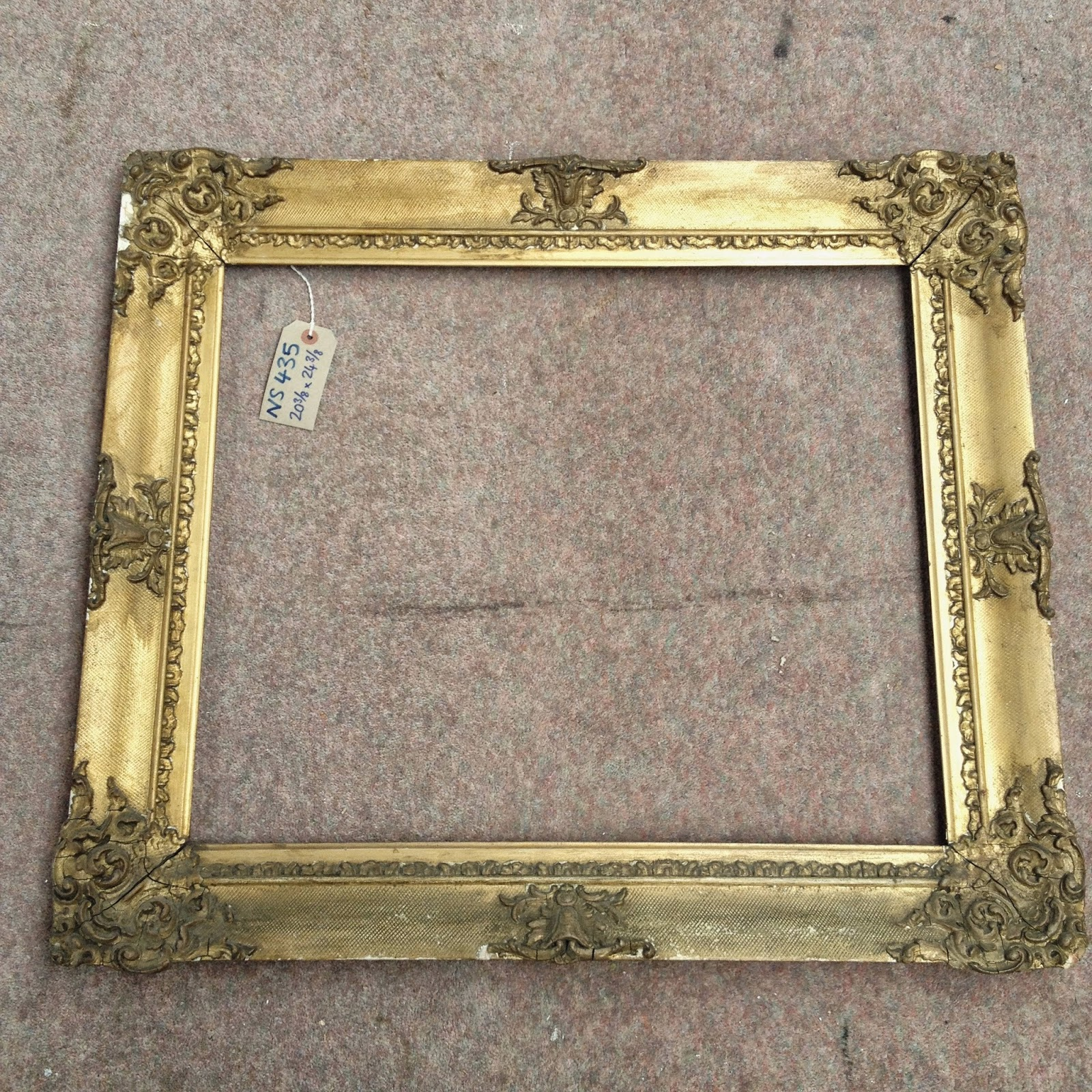 Framemaker antique 20 x 24 frames a varied selection of antique frames to fit 20 x 24 paintings prices vary from 80 to 450 ex vat jeuxipadfo Choice Image