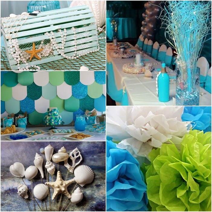 Under the Sea Sweet Fifteen Theme
