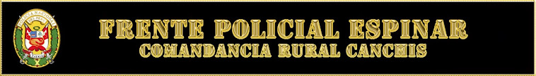 COMANDANCIA RURAL CANCHIS