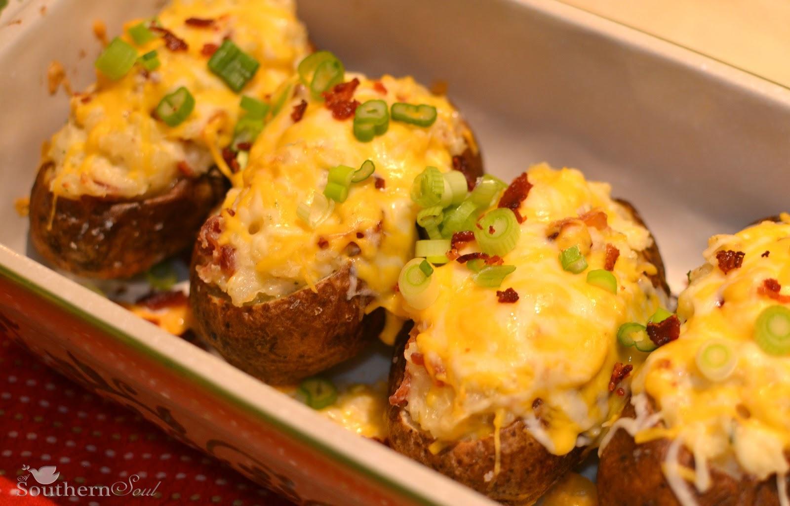 Southern Soul: Stuffed Baked Potatoes