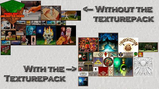 Ocarina of Time y Majora's Mask Texture Pack cuadros