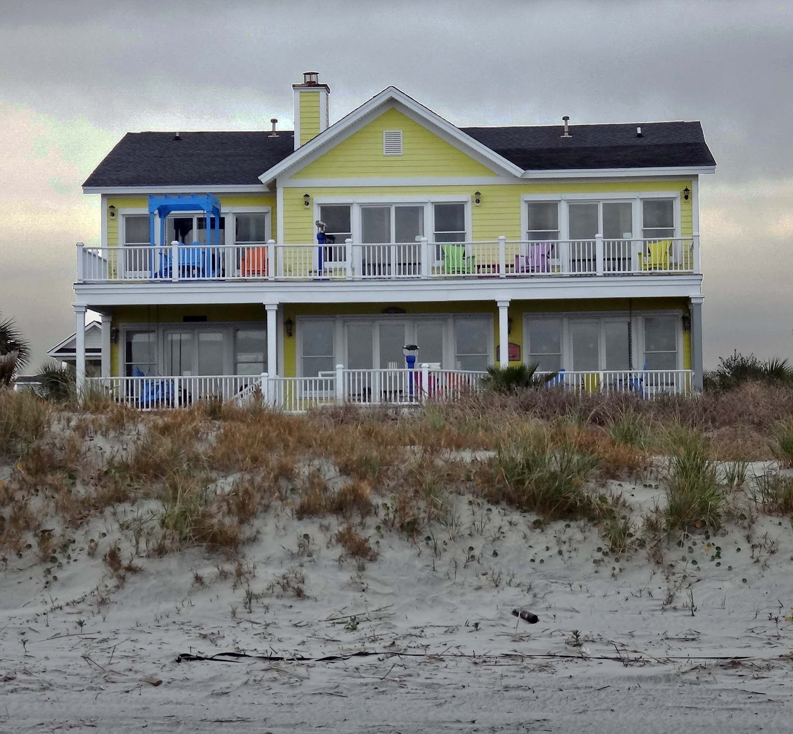 South Carolina Rental On Beach Away From Town