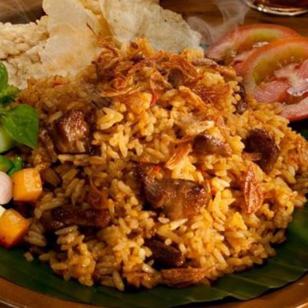 Resep Nasi Goreng Kambing - Nasi goreng dikombinasikan dengan daging ...