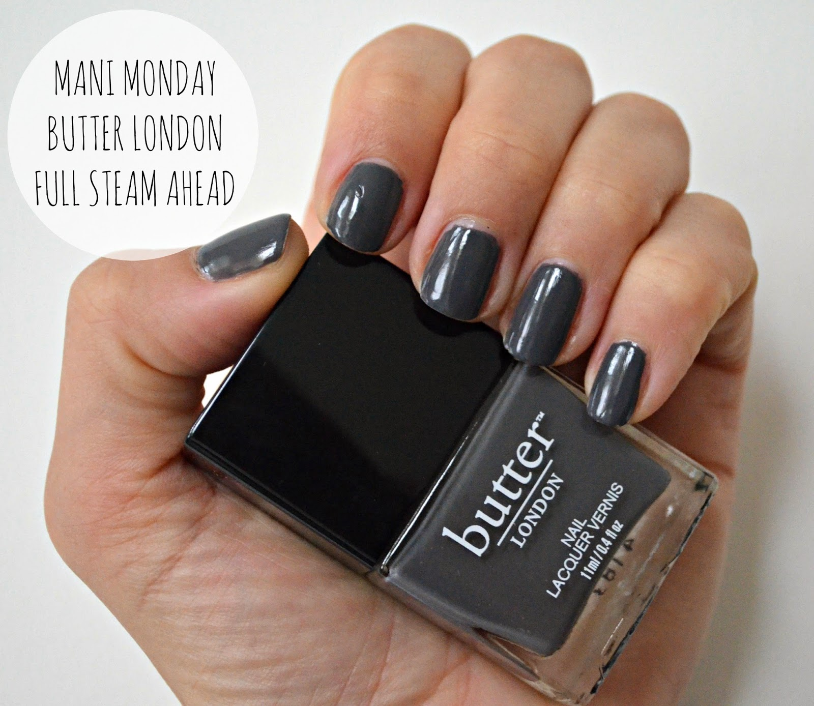 BUTTER LONDON FULL STEAM AHEAD