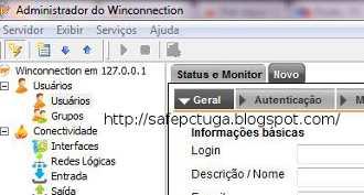 Como bloquear sites na rede Winconnection