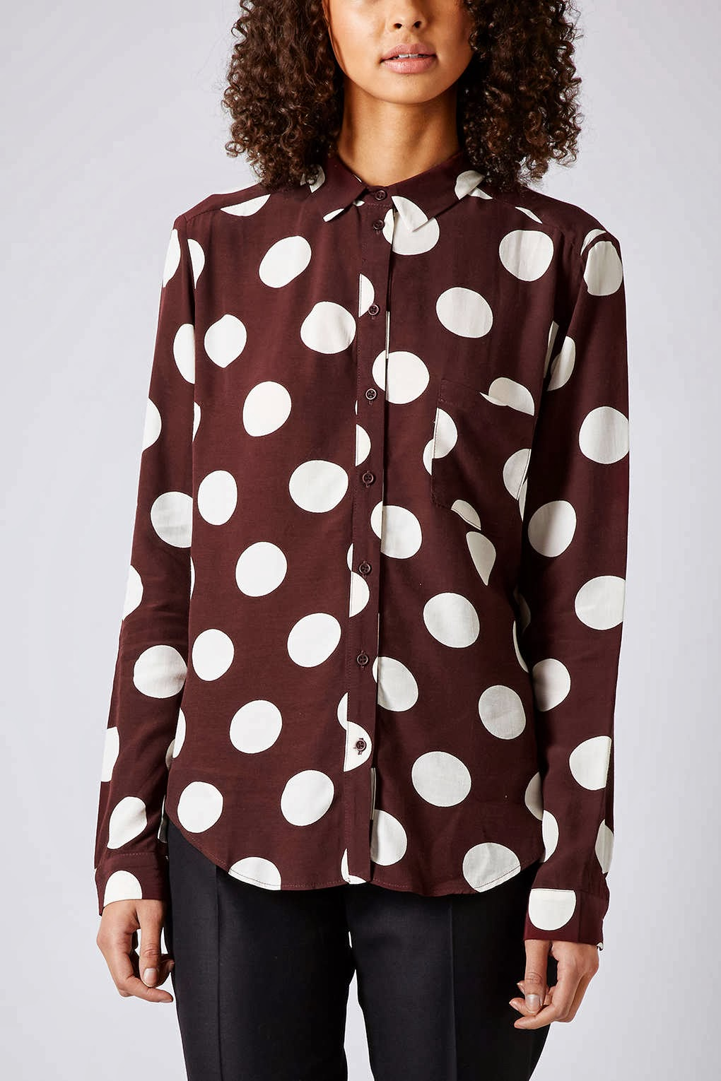mulberry spotty shirt