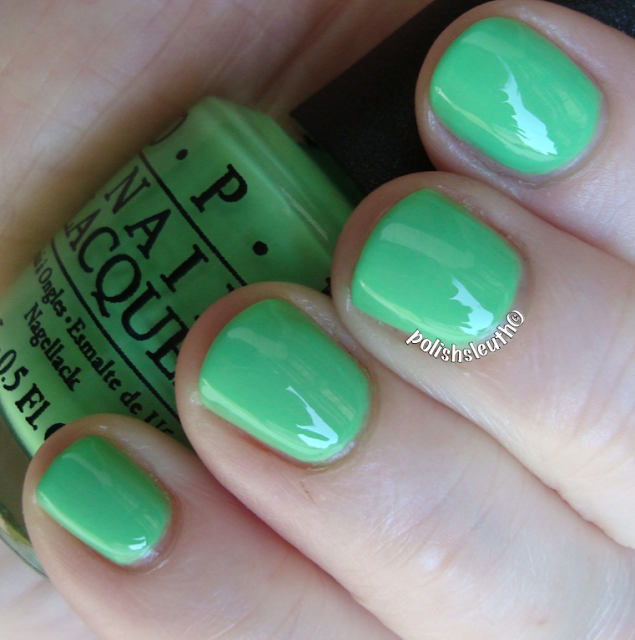 OPI's Your Are So Outta Lime