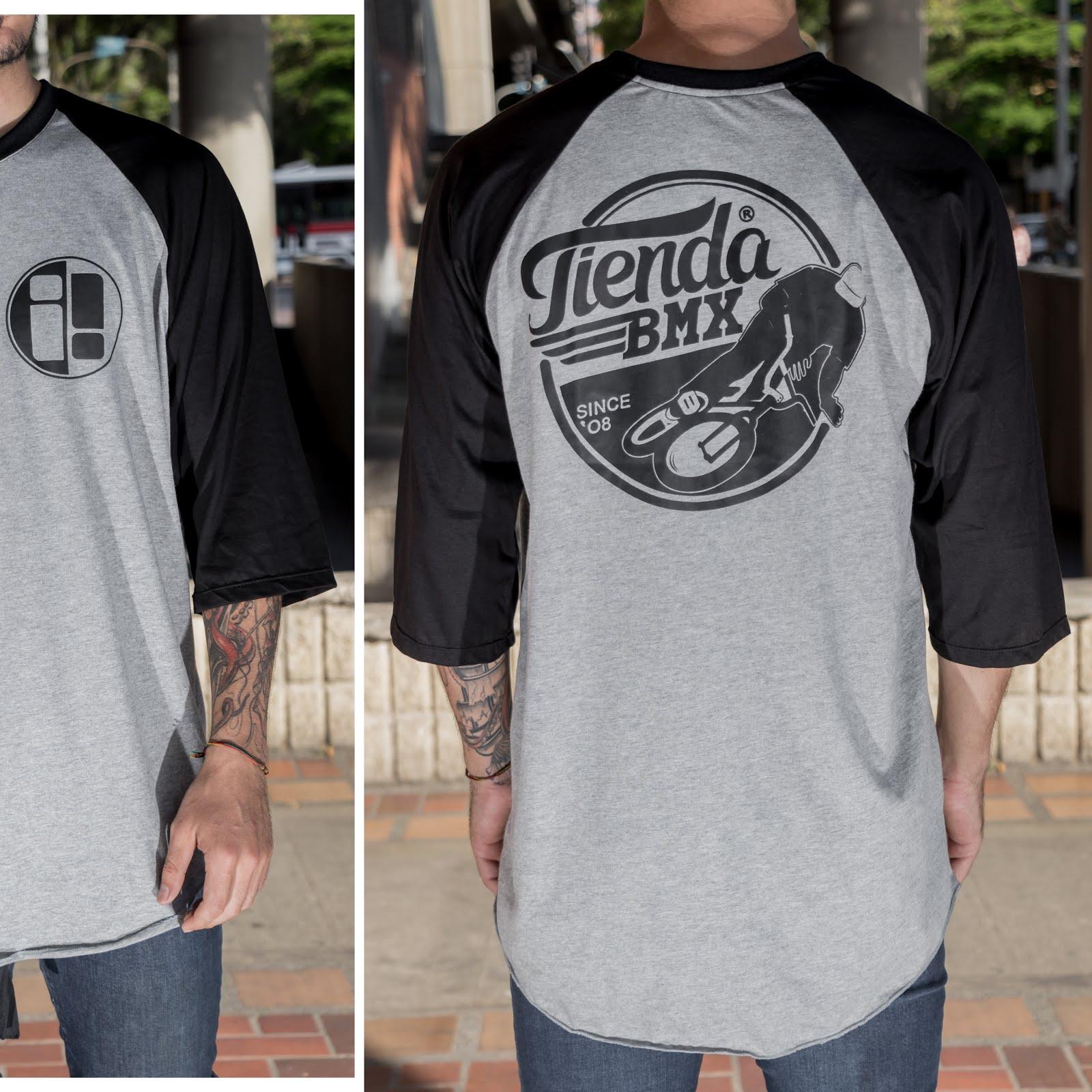Camiseta 3/4 TIENDA. $40.000