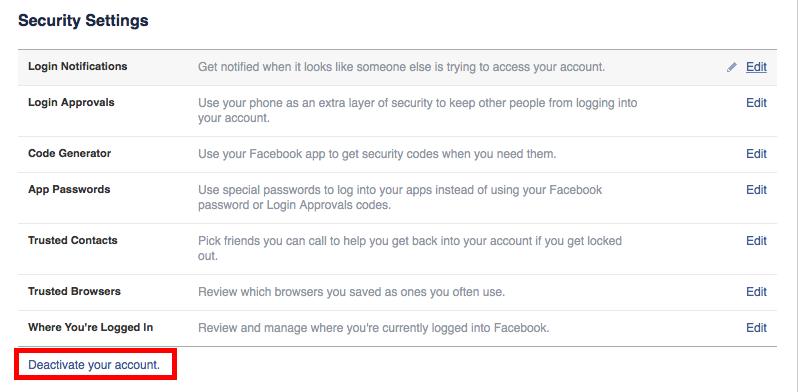 Cara mudah menonaktifkan facebook dan Twitter