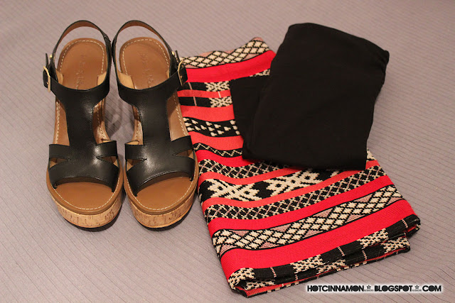 Zara etnic skirt